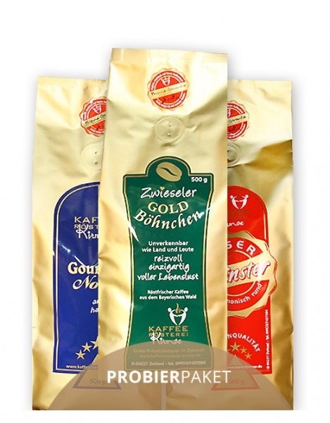 Probierpaket - Kaffeemischung 3 x 250g