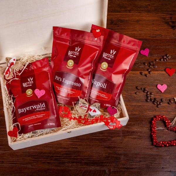 Kaffee Geschenke Set - Espresso 3 x 250g