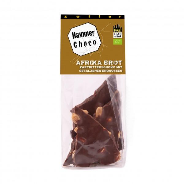 Hammer Choco- Dunkle 60% mit gesalzenen Erdnüssen