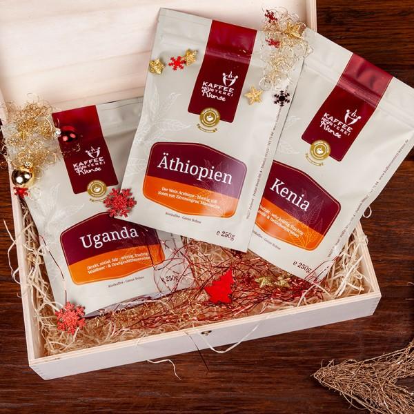 Kaffee Geschenke Set - Afrika