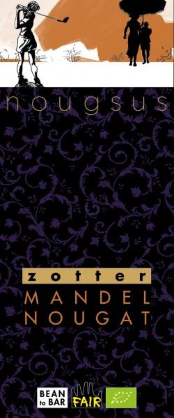 Nougsus Zotter Schokolade- MandelNougat