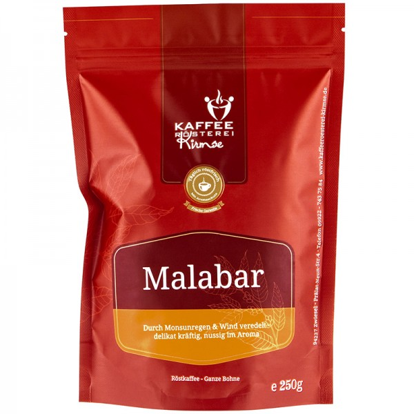 Kaffeemischung Malabar 250g