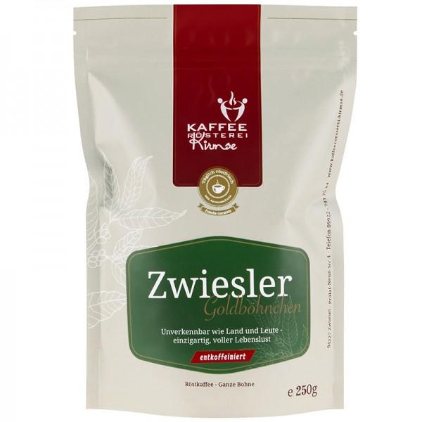 Kaffee Zwiesler Goldböhnchen entkoffeiniert 250g