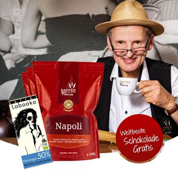 Espresso Kaffee Kraftpaket 2021