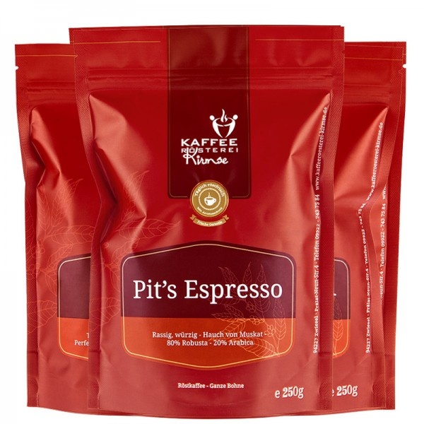Probierpaket - Espresso 3 x 250g
