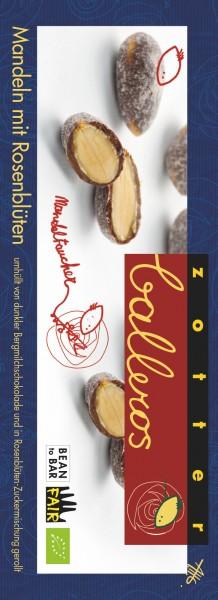 Zotter Schokolade Balleros - Mandeln Mit Rosenblüten