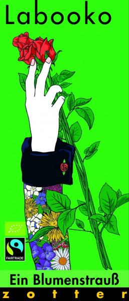 Zotter Schokolade Labooko - Ein Blumenstrauß