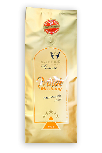 Kaffeemischung Milde Mischung
