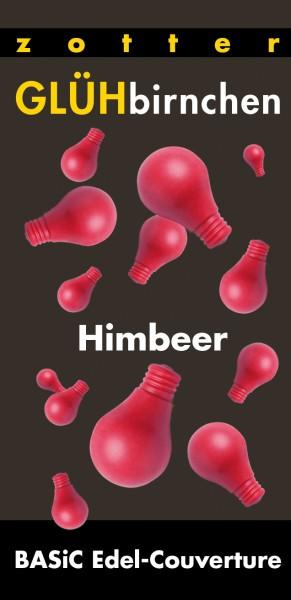 GLÜHbirnchen- Himbeer von Zotter Schokolade