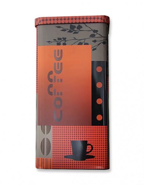 Kaffeedose Dekor