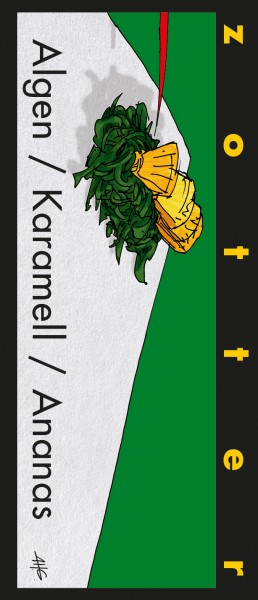 Algen/ Karamell/ Ananas