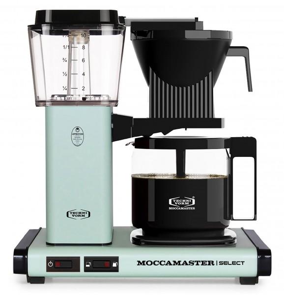 Moccamaster KBG Select Kaffeemaschine - pastell grün