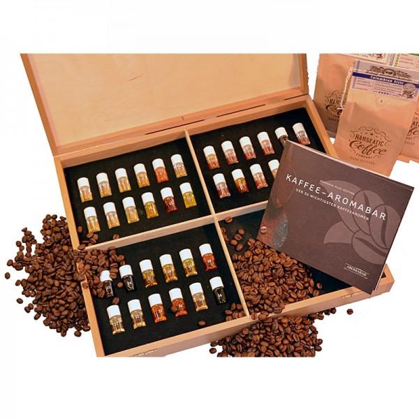 Kaffee Aromabar mit 36 Aromen