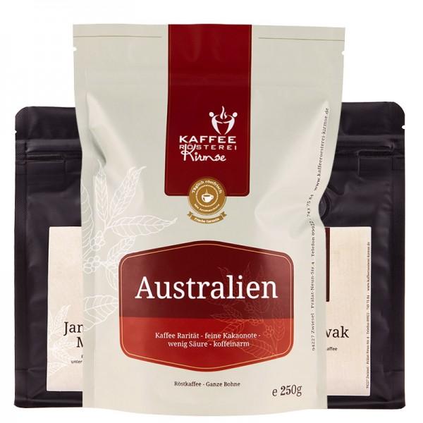 Probierpaket - Kaffee Raritäten 1 x 250g, 2 x 100g