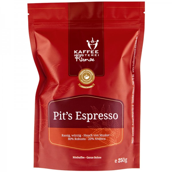 Pits Espresso 250g