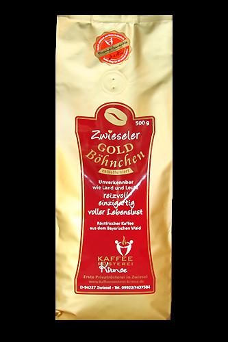 Kaffee Zwieseler Goldböhnchen entkoffeiniert