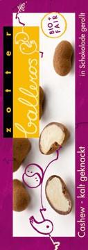 Zotter Schokolade Balleros - Cashew Kalt geknackt