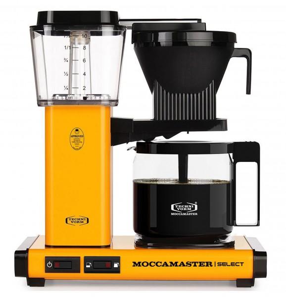 Moccamaster KBG Select Kaffeemaschine - gelb