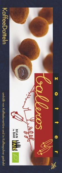 Zotter Schokolade Balleros - Kaffeedatteln