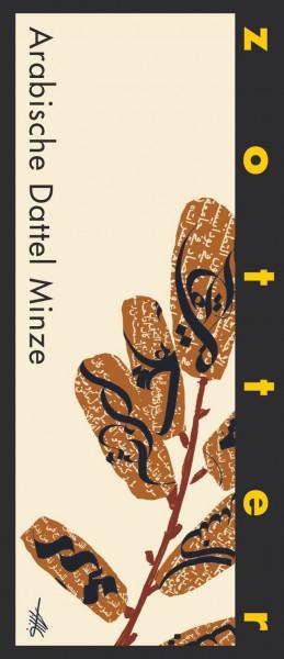 Zotter Schokolade Arabische Dattel Minze