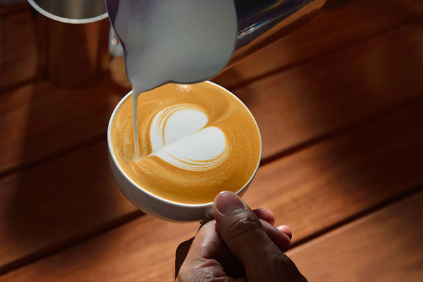 Latte Art Herz