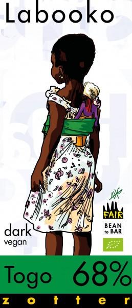 Zotter Schokolade Labooko - Togo 68%