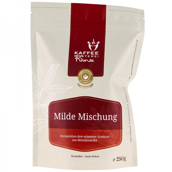 Kaffeemischung Milde Mischung 250g